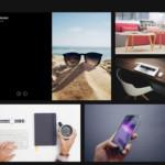 Folding Caption Gallery Template - WordPress Gallery Extra