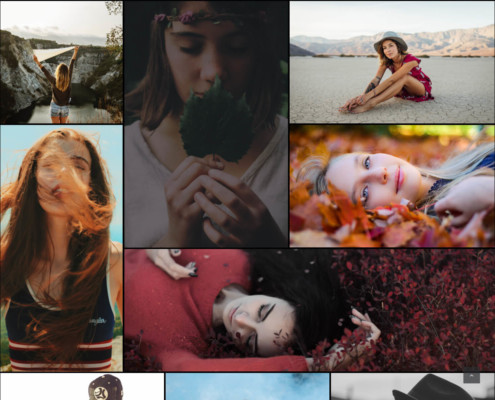 Fullwidth Mosaic Gallery with Zoom effect and overlay - WordPress Gallery Extra