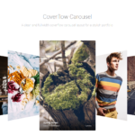 Coverflow Carousel - WordPress Gallery Extra