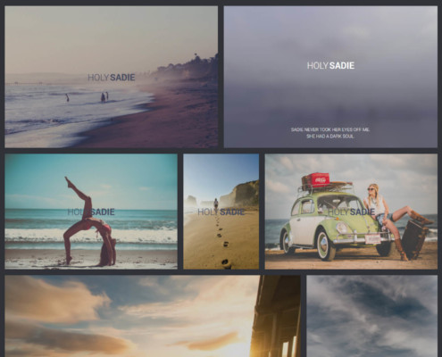 Sadie Gallery Template - WordPress Gallery Extra